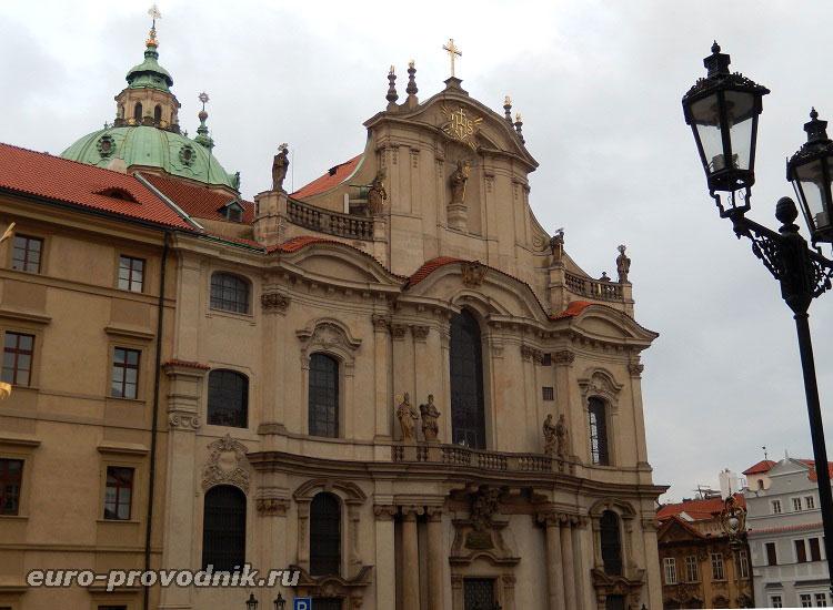 Фасад собора Св. Микулаша