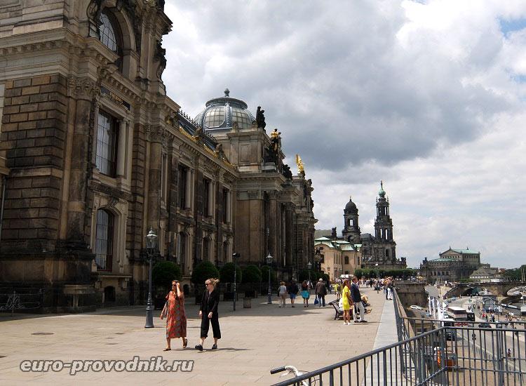 Балкон Европы в Дрездене