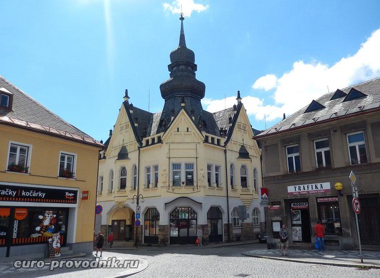 Город Йилемнице в Чехии