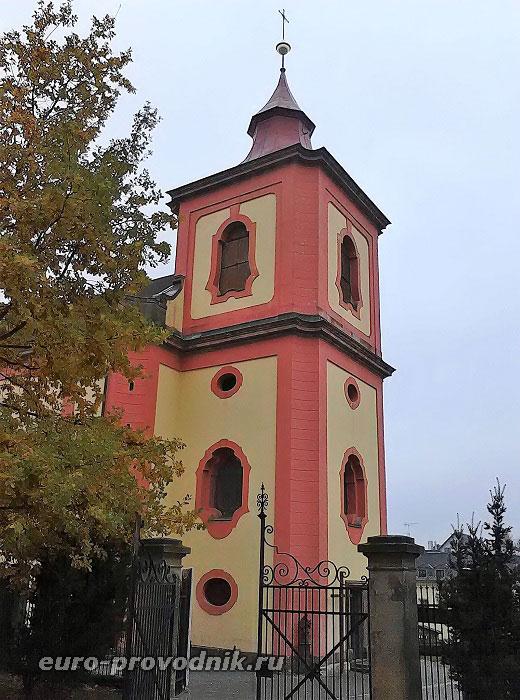 Костел в Йелемнице