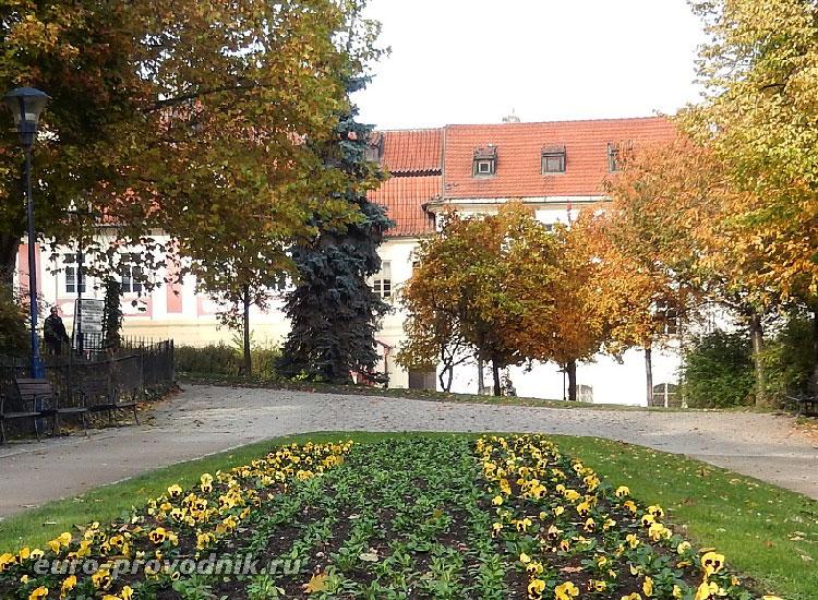 Станция фуникулера в Праге