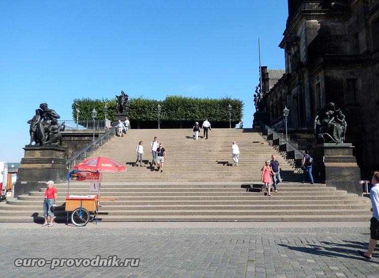 Лестница, ведущая на балкон Европы