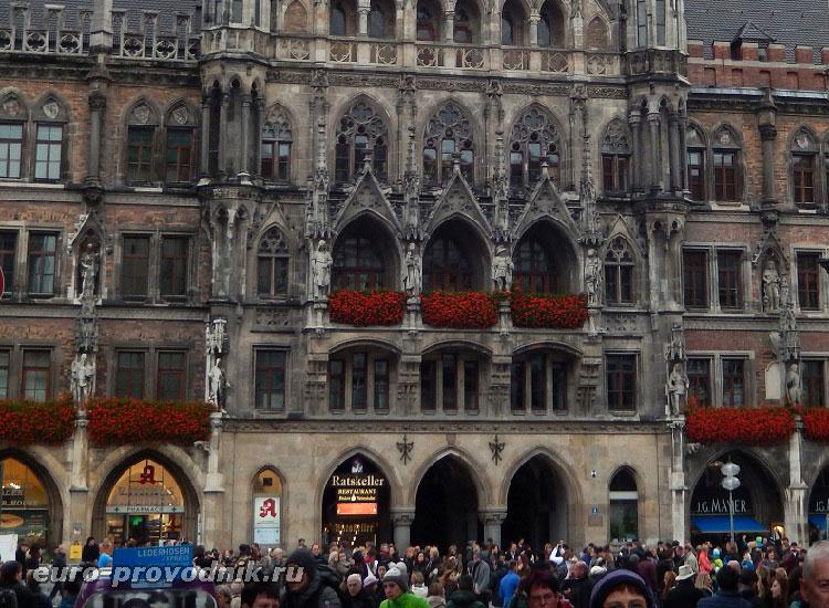 Мюнхен: Мариенплац