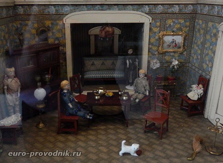 В музее игрушек в Праге