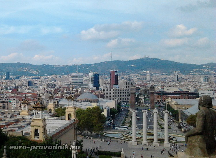 Виды Барселоны с Монтжуик