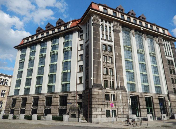 Современная архитектура Дрездена