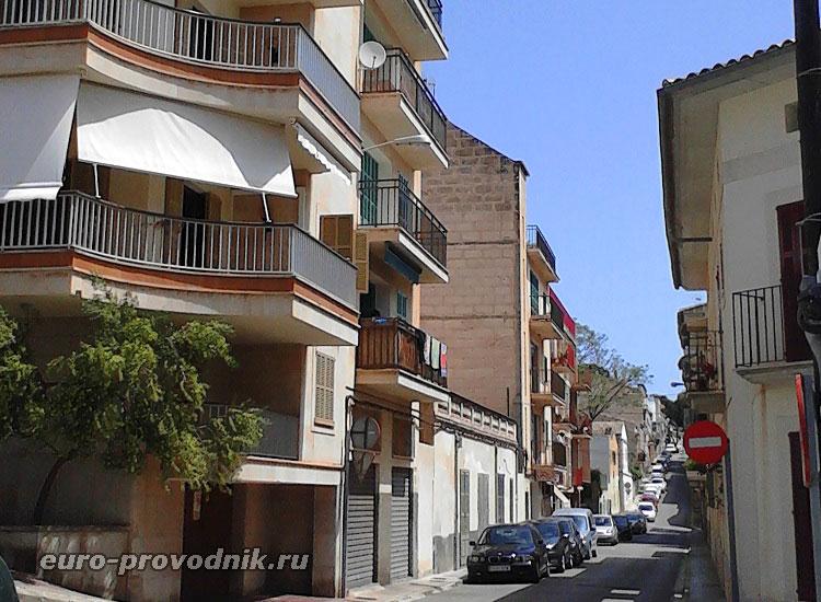 Улицы Порто Кристо