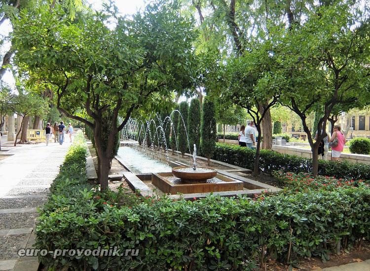 Королевский сад в Пальме