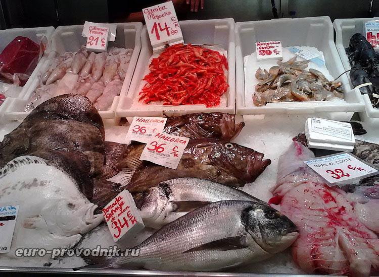 Рынок в Пальма де Майорка