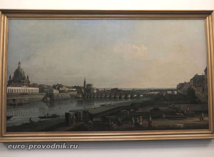 Бернардо Беллотто, Виды Дрездена