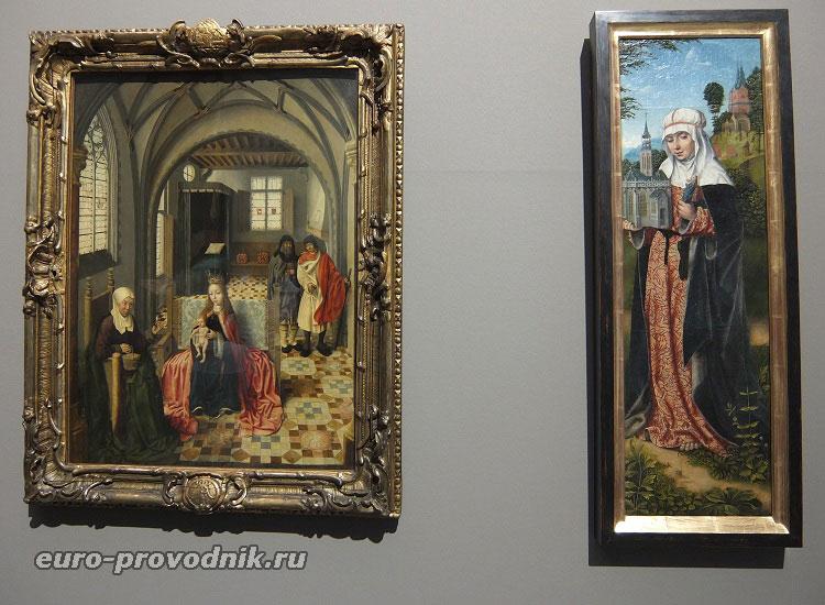 Картины конца XV века