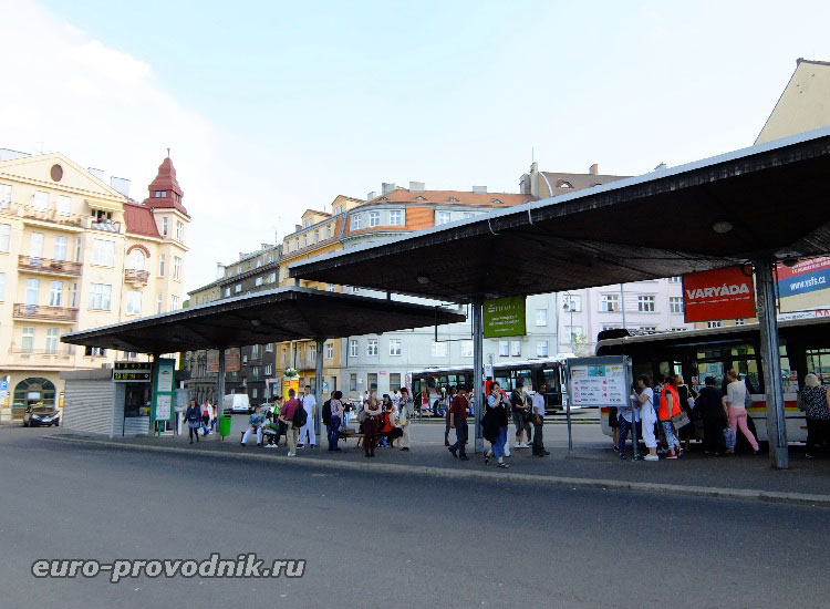 Автобусные платформы на Trznice