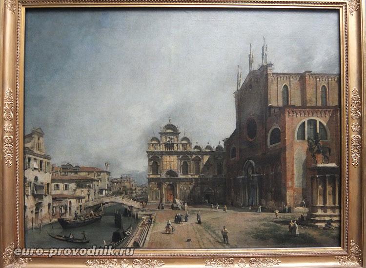 Джованни Антонио Каналь, Виды Венеции