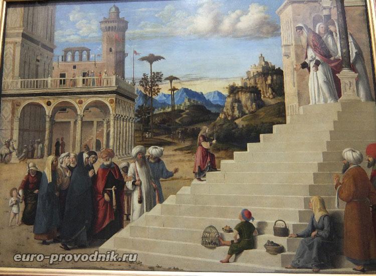 Чима да Конельяно, Введение Марии во храм