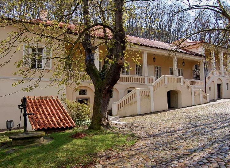 Вилла Бертрамка в Праге