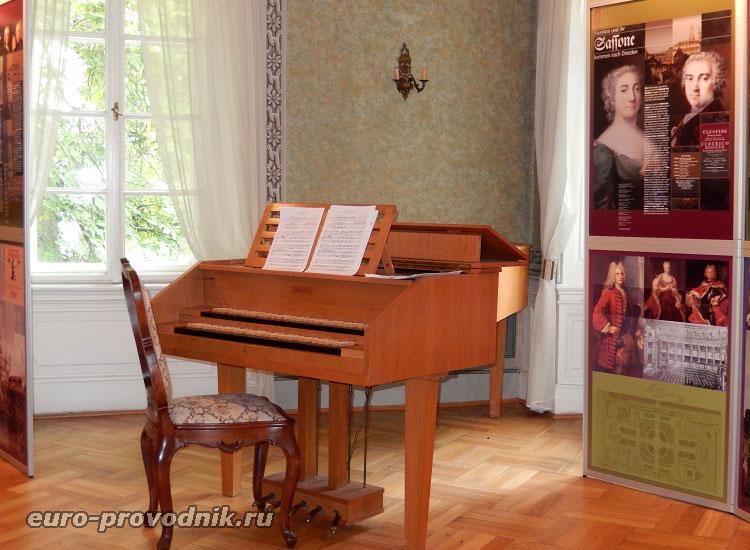 В музее Моцарта в Праге