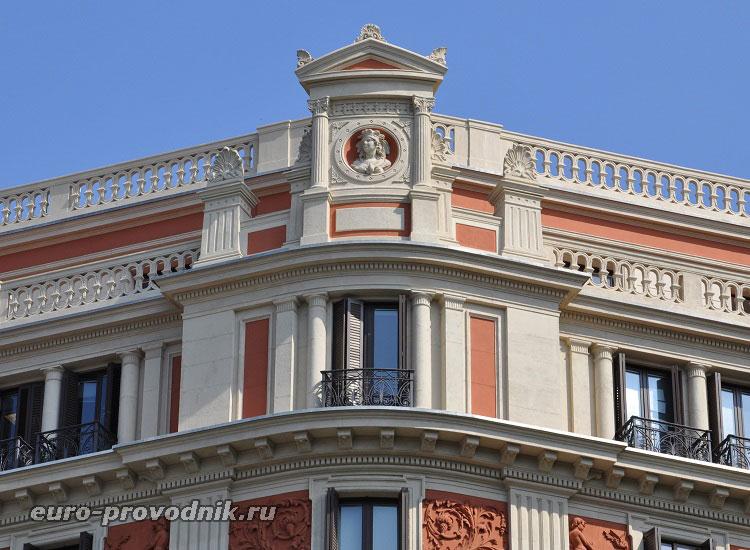 Фасады Барселоны