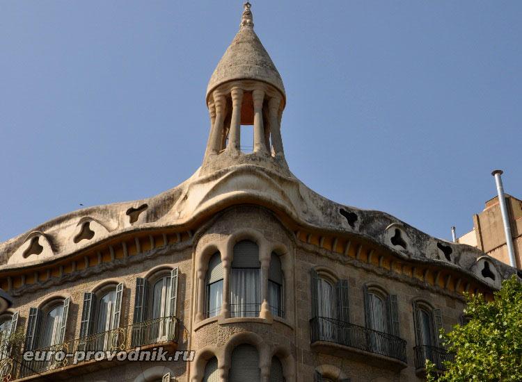 Каталонский модерн в Барселоне