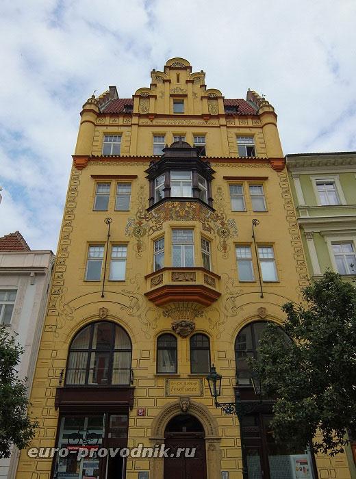 Здание на Оvochny-trh