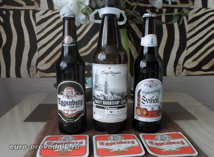 Пиво Эггенберг в Чехии