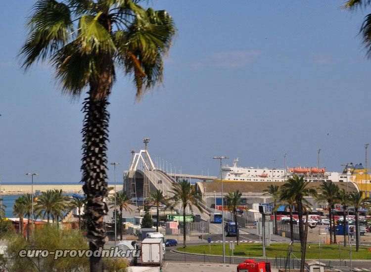 Портовая дорога к круизным терминалам