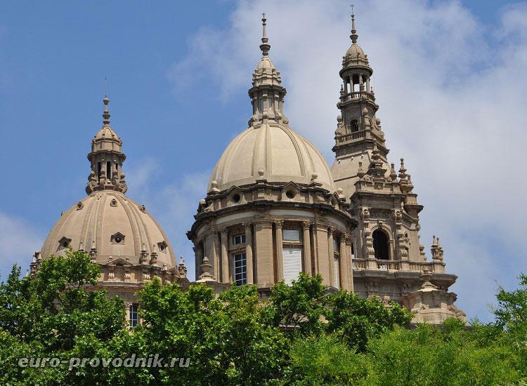 Купола национального дворца