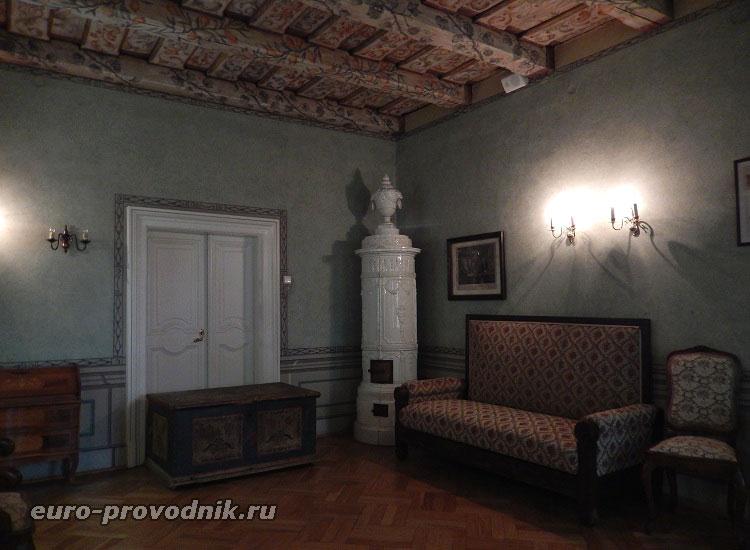 Комната в музее Моцарта