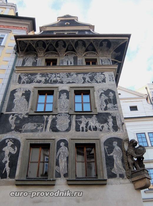 Сграффито на фасаде