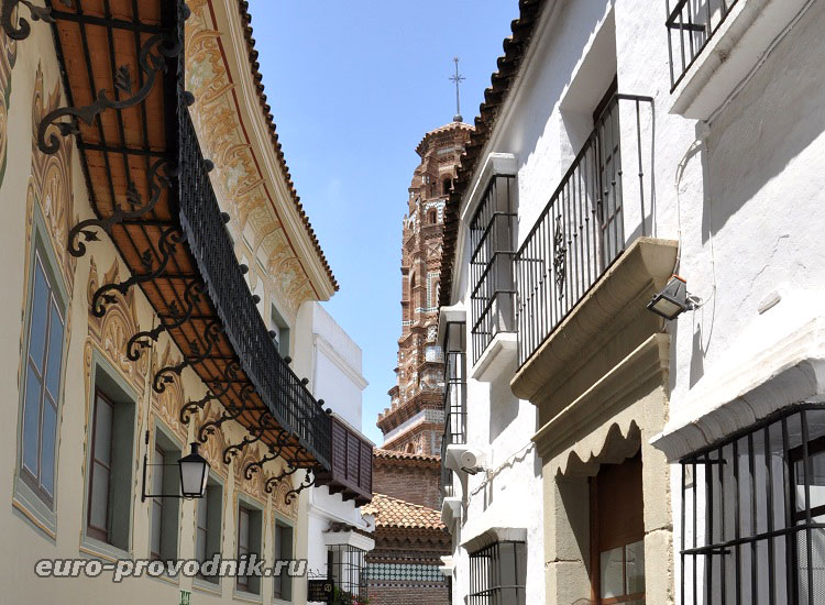 Архитектура Испанской деревни в Барселоне