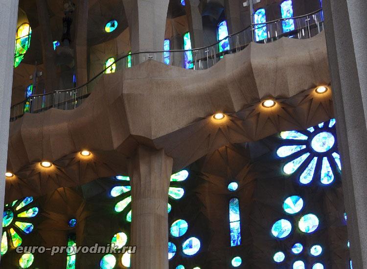 Балкон в храме Святого Семейства
