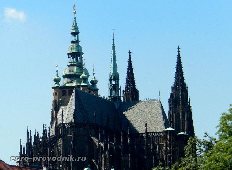 Святовитские башни в Праге