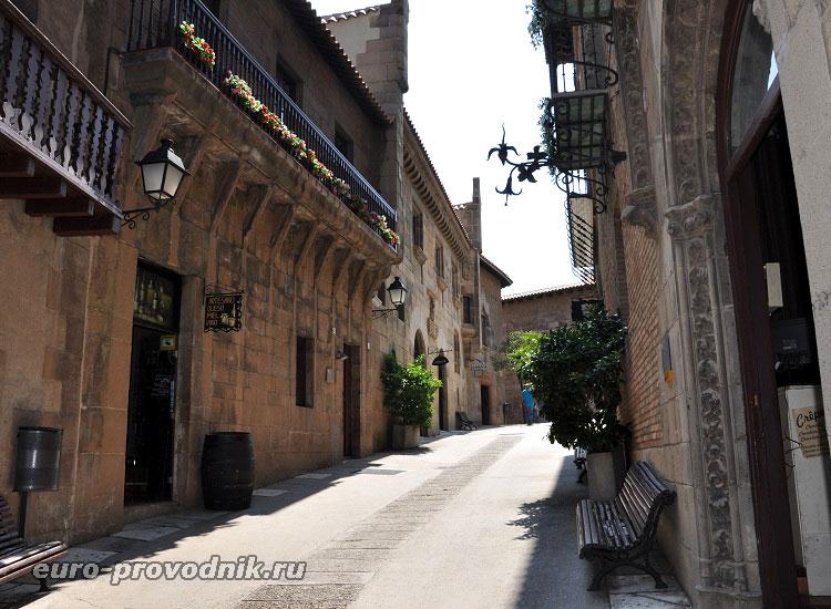 Архитектура разных провинций Испании