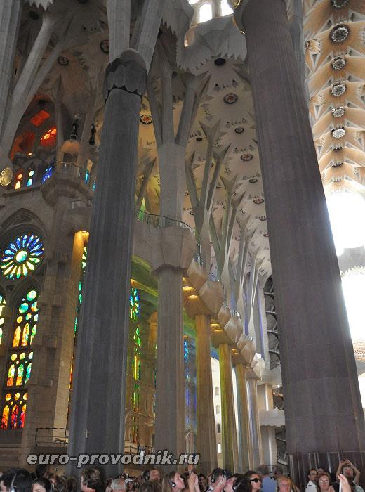 Древовидные колонны