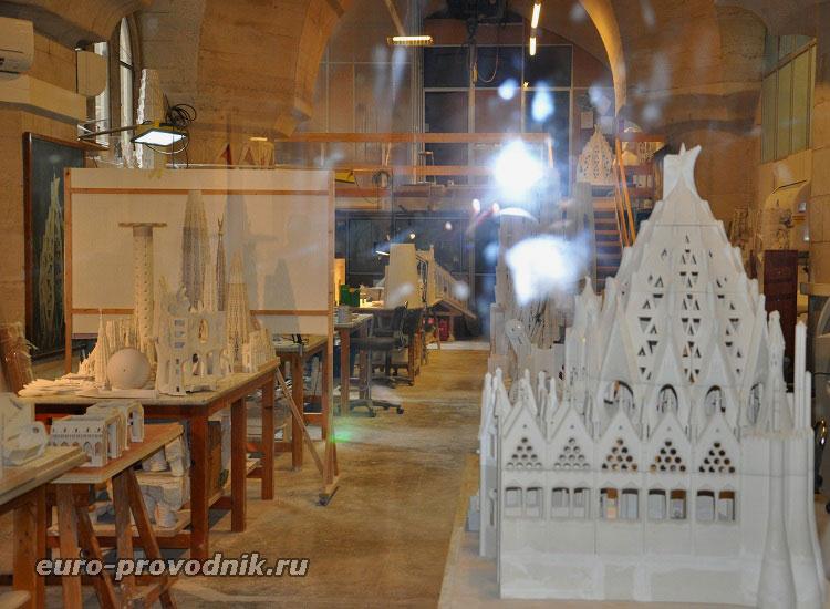 Музей наработок Антонио Гауди