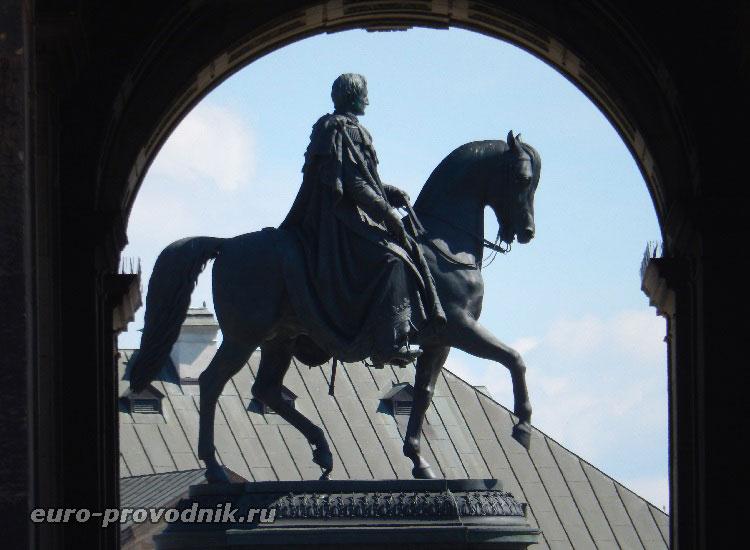 Памятник королю Иоганну Саксонскому