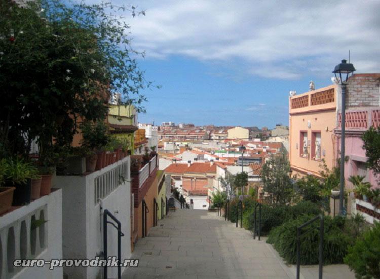 Лестницы-тротуары в Мальграт дель Мар