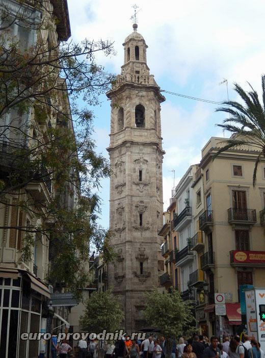 Башня на площади Лопе де Вега