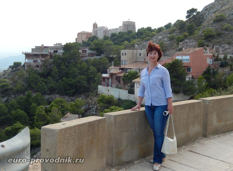 Дорога к замку Кульеры