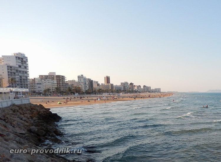 Пляжи Гандии