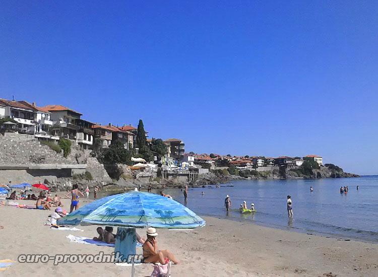 Пляж в Созополе