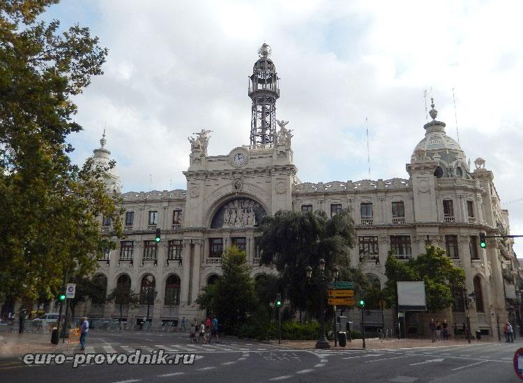 Здание Валенсийской почты