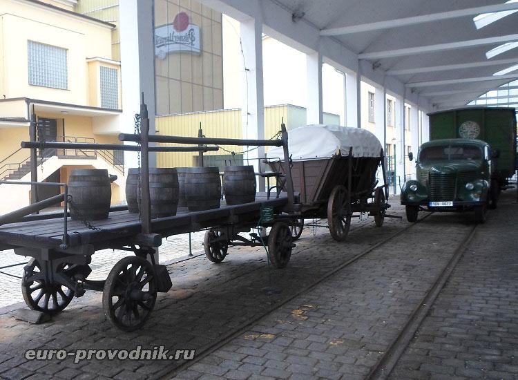 Старинная транспортировка продукции