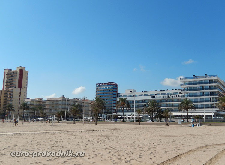 Песчаные пляжи в Гандиа