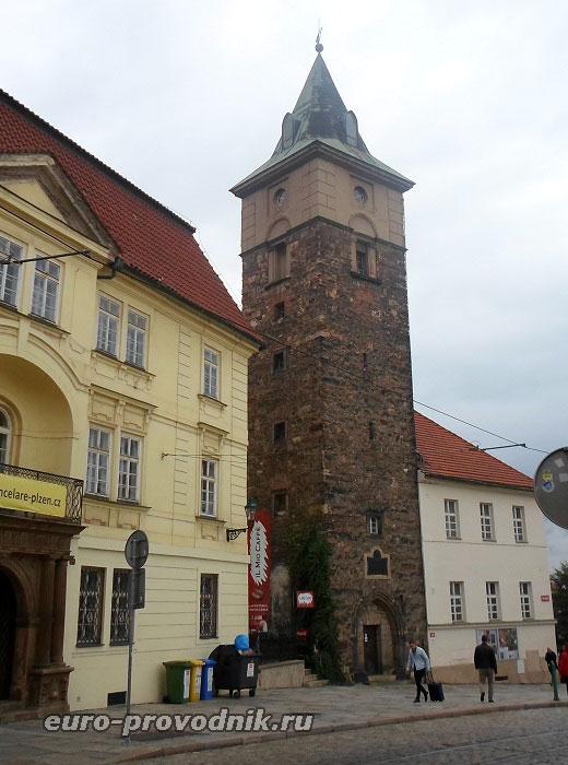 Черная башня в Пльзени
