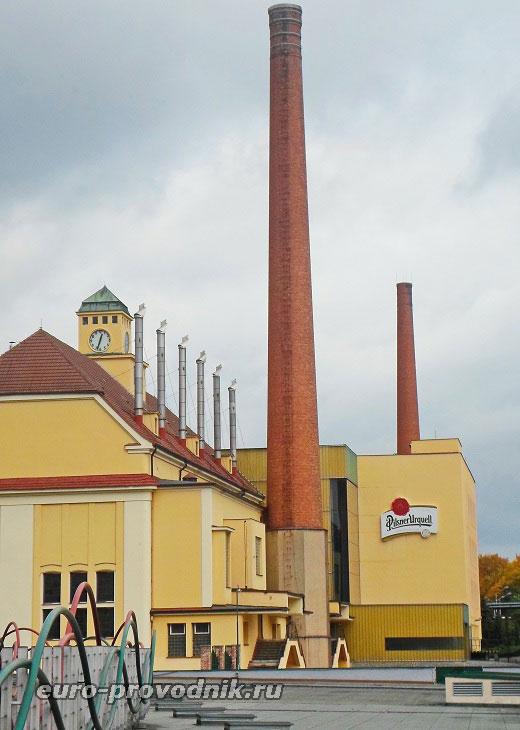 Трубы пивоваренного завода