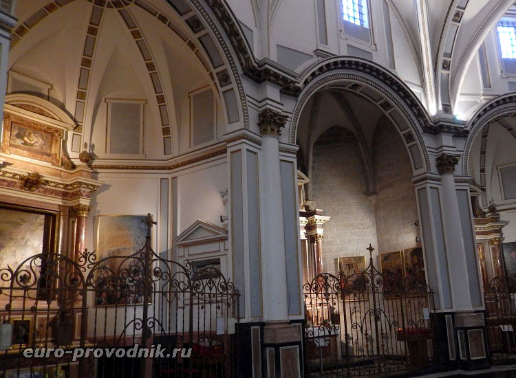 Капеллы Кафедрального собора