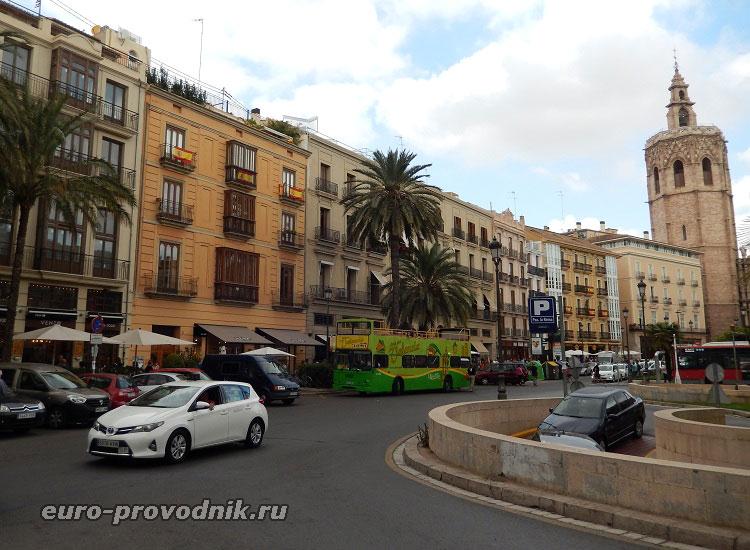 Остановки Бас Туристик в Валенсии