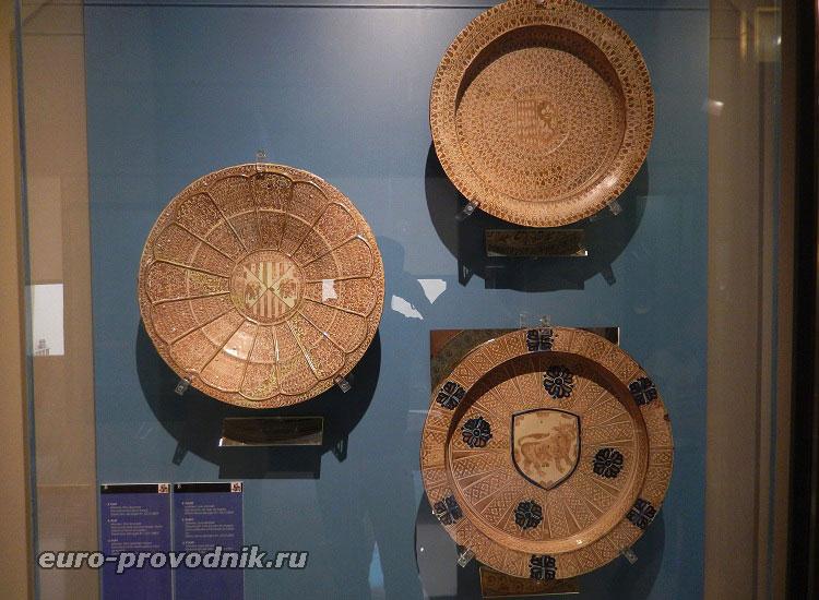 Тарелки XV века