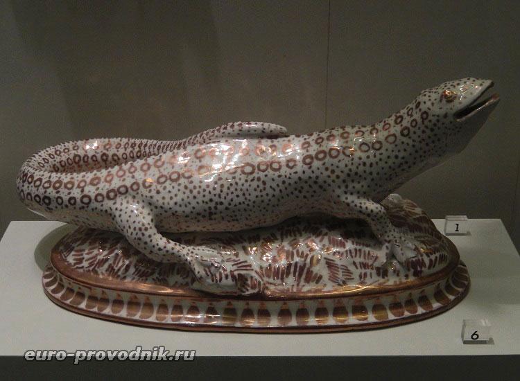 Фарфоровая саламандра