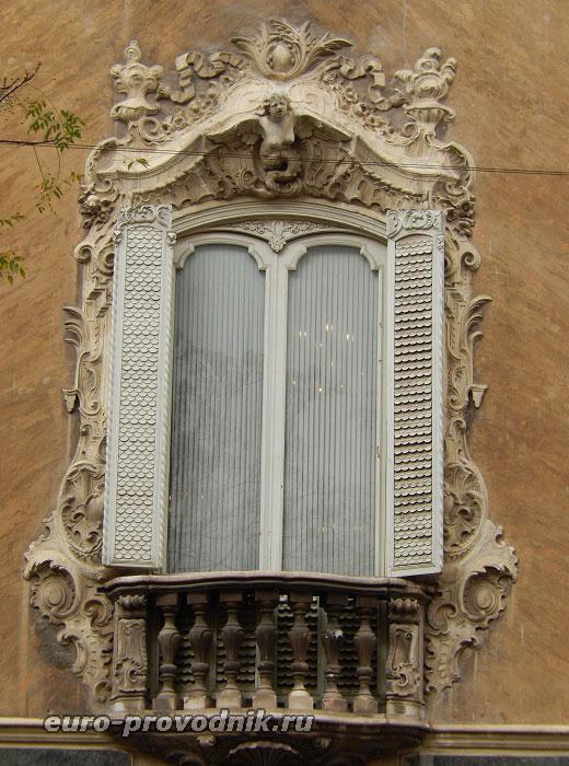 Декор дворца Дос Агуас